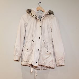 Cream Fall-Winter Jacket